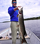 Norther Pike Fishing Armstrong Ontario